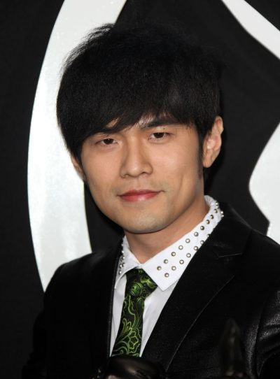 LOS ANGELES - JAN 10:  Jay Chou arrives to Los Angeles Premiere