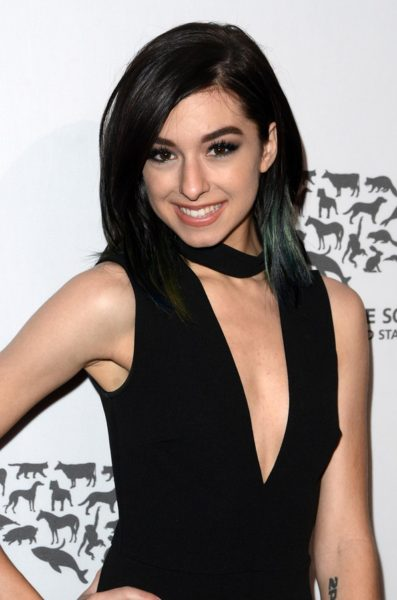 LOS ANGELES - MAY 7: Christina Grimmie at the Humane Society Of