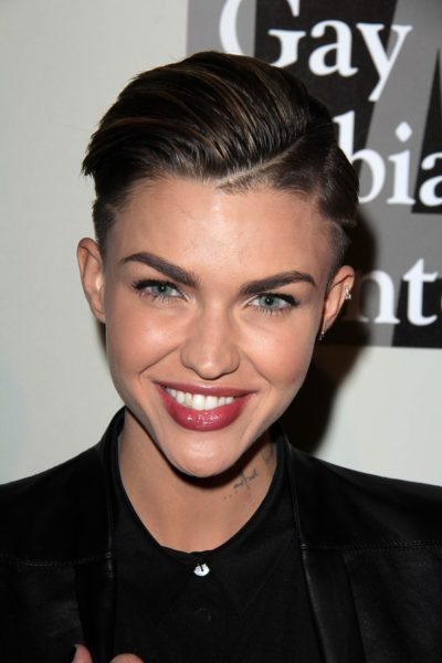 LOS ANGELES - MAY 10:  Ruby Rose at the L.A. Gay & Lesbian Cente
