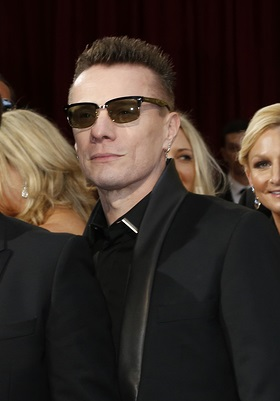 LOS ANGELES - MAR 2:  The Edge, Adam Clayton, Bono, Larry Mullen