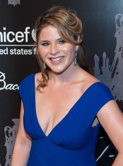 NEW YORK-DEC 3: TV host Jenna Bush Hager attends the 9th Annual