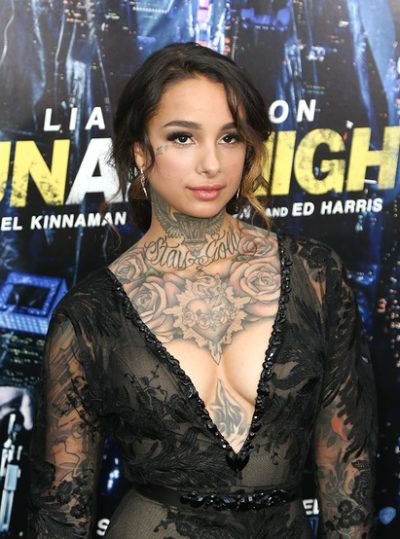 NEW YORK-MAR 9: Tattoo artist/model Cleo Wattenstrom attends the