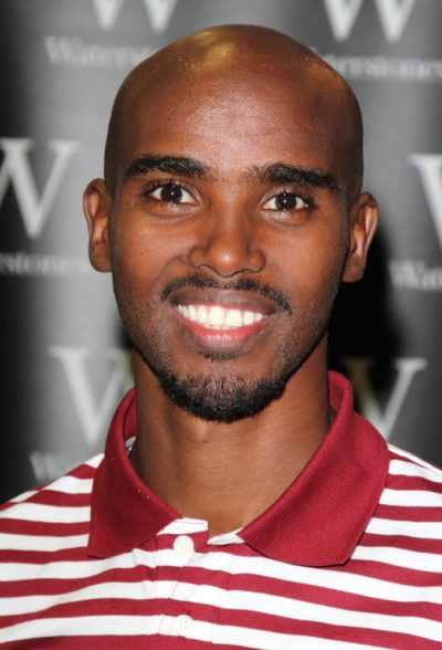 "Mo Farah ""Twin Ambition"" Book Signing at Waterstones in London on October 16, 2013"