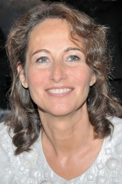 Segolene Royal Promotes Her Book at the 29th Annual Paris Book Fair at Salon du Livre on March 15, 2009