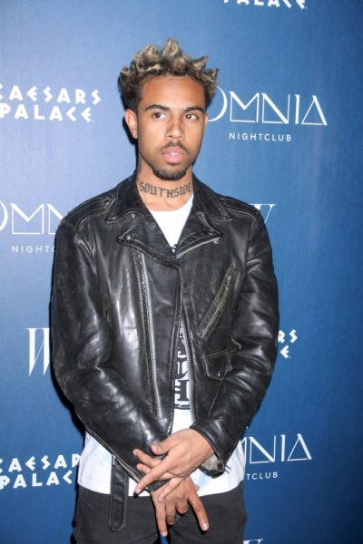 Omnia Nightclub's Grand Opening Weekend with P. Diddy and Sarah Hyland on April 25, 2015