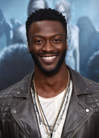"LOS ANGELES - JUN 27:  Aldis Hodge arrives to the ""The Legend of"