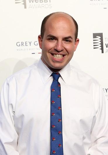 NEW YORK, NY - MAY 18: Senior Media Correspondent Brian Stelter