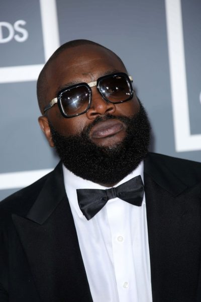 Rick Ross at the 55th Annual GRAMMY Awards, Staples Center, Los